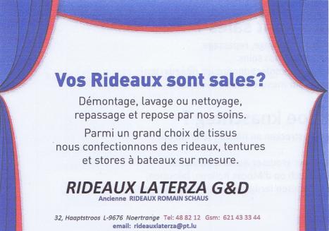 Rideaux Laterza G&D
